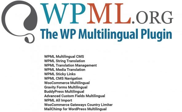 WPML WordPress Multilingual Plugin Full Bundle for $11.99 (15 Plugins)