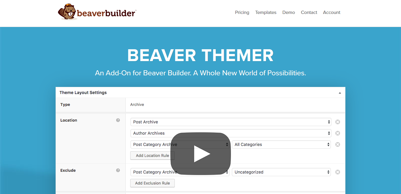 Beaver Builder Themer 1.3.3.1 – A WordPress Theme Builder