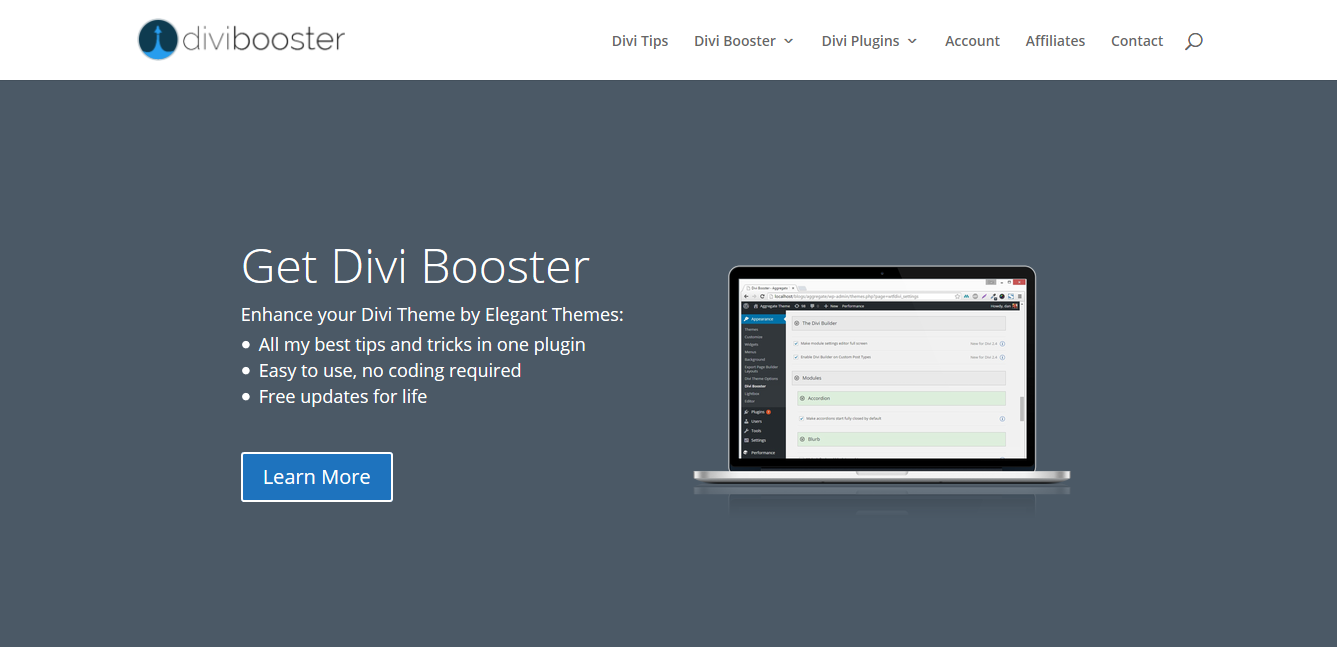 Divi Booster Plugin for WordPress 3.3.9
