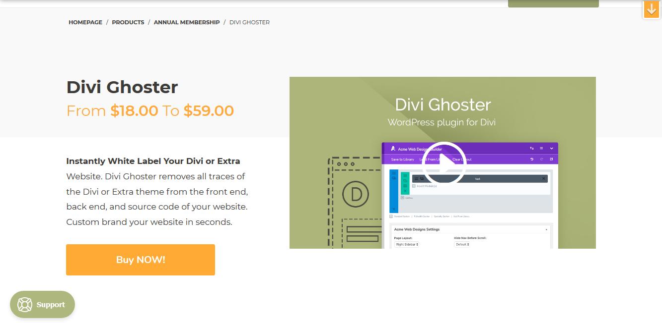 Divi Ghoster 5.0.16 – Aspen Grove Studios