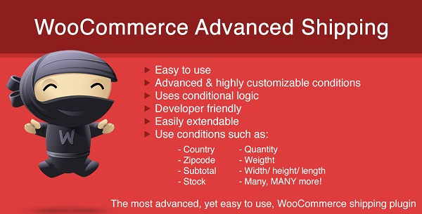 WooCommerce Advanced Shipping by Sormano 1.0.14