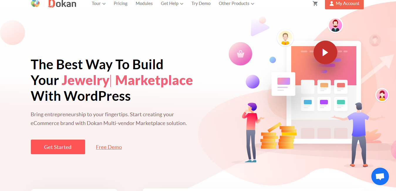 Dokan Business 3.2.2 + Dokan Theme 2.3.6 – WooCommerce Multivendor Plugin