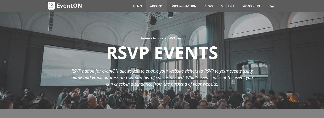 EventOn RSVP Events Addon 2.6.10