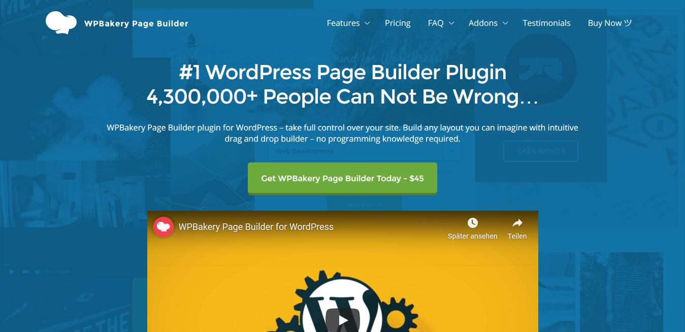 WPBakery Page Builder 6.6.0 : #1 WordPress Page Builder Plugin