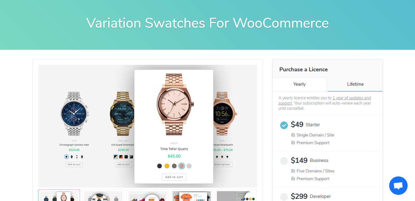 Variation Swatches Pro For WooCommerce 1.1.17 – GetWooPlugins