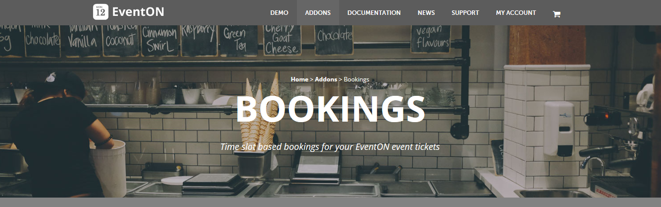 EventOn Bookings Addon 1.1.1