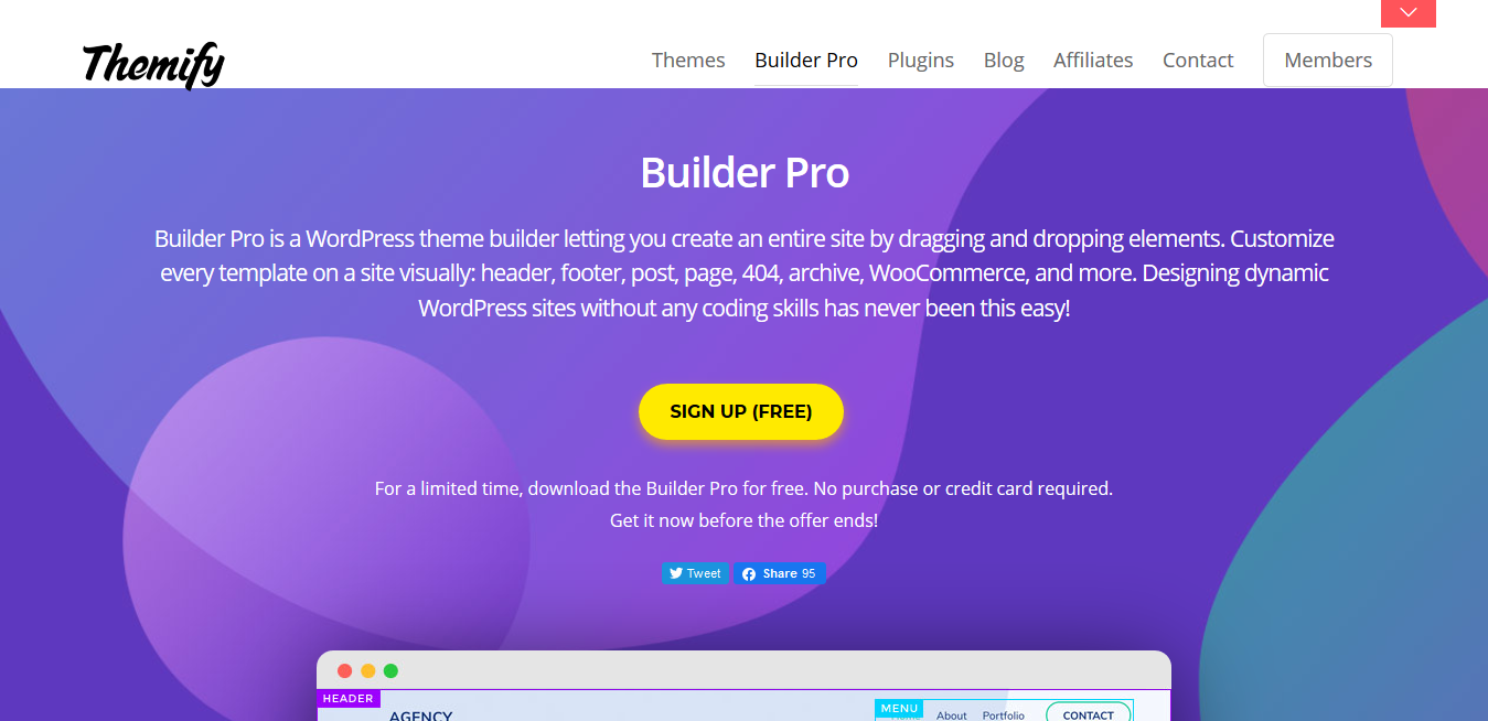 Themify Builder Pro 2.1.0 with all 32 Addons – Create Complete Theme