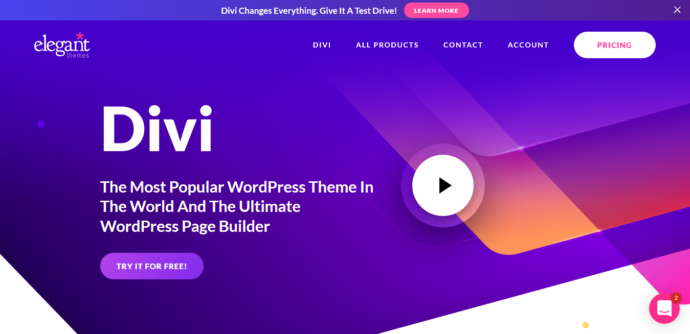 Divi Theme 4.9.4 with License Key — The Ultimate WordPress Theme & Visual Page Builder