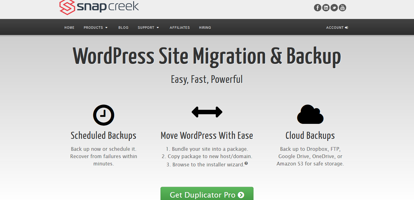 Duplicator Business 4.0.2 – Best WordPress Migration Plugin
