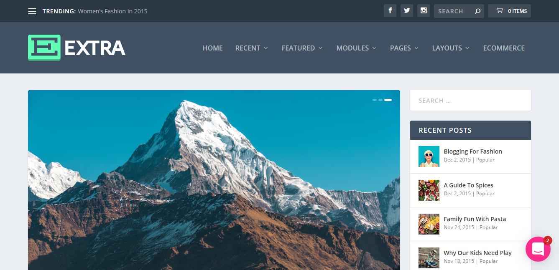 Elegant Themes Extra 4.5 – Drag & Drop Magazine WordPress Theme