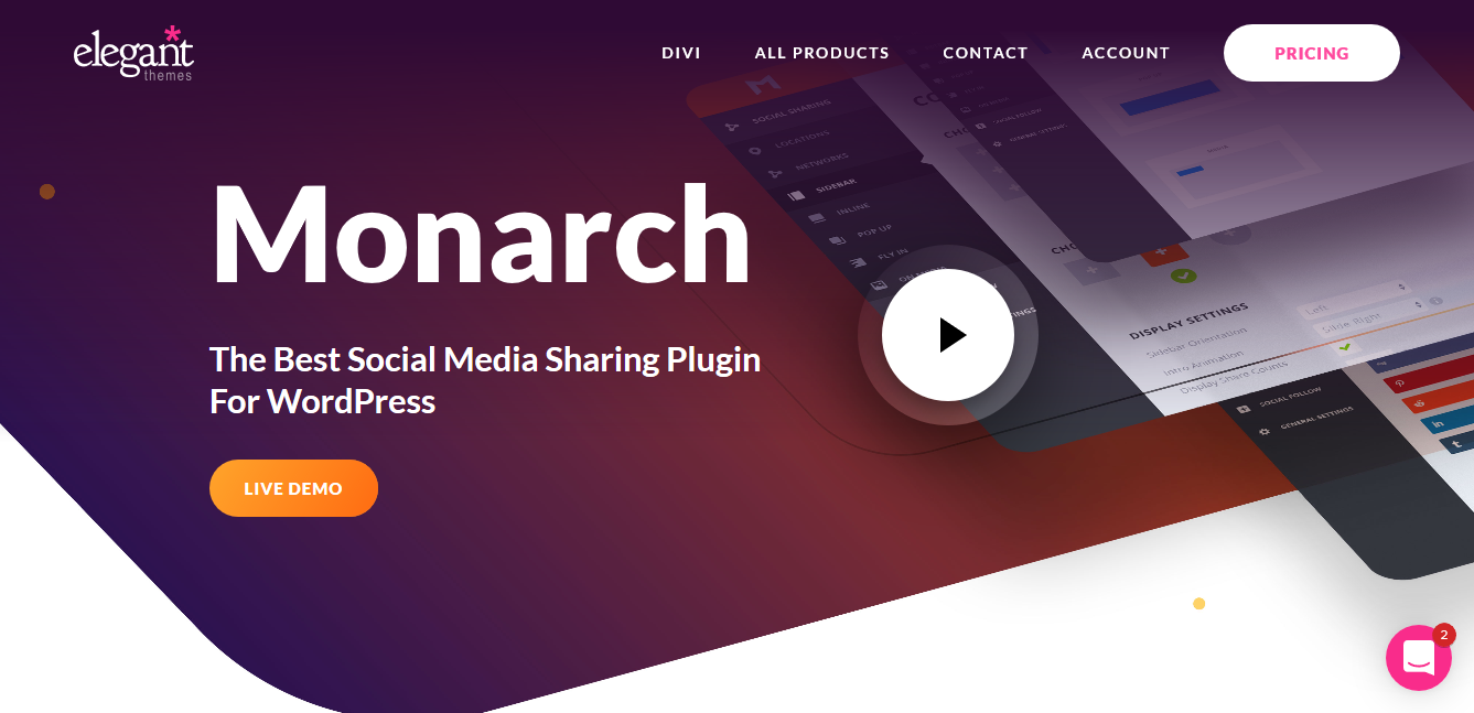 Monarch 1.4.13 – Social Sharing Plugin For WordPress