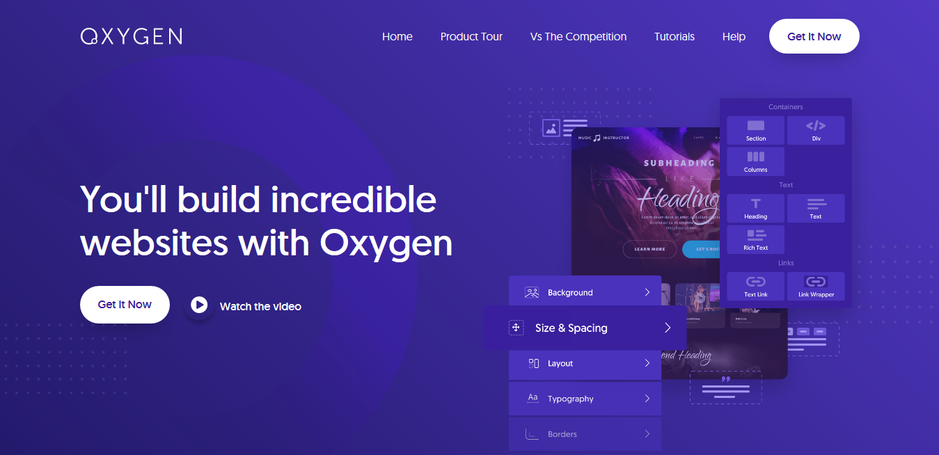 Oxygen 3.7.1 + Integrations + Oxygen Ultimate 1.4.5 – The Ultimate Visual Site Builder for WordPress