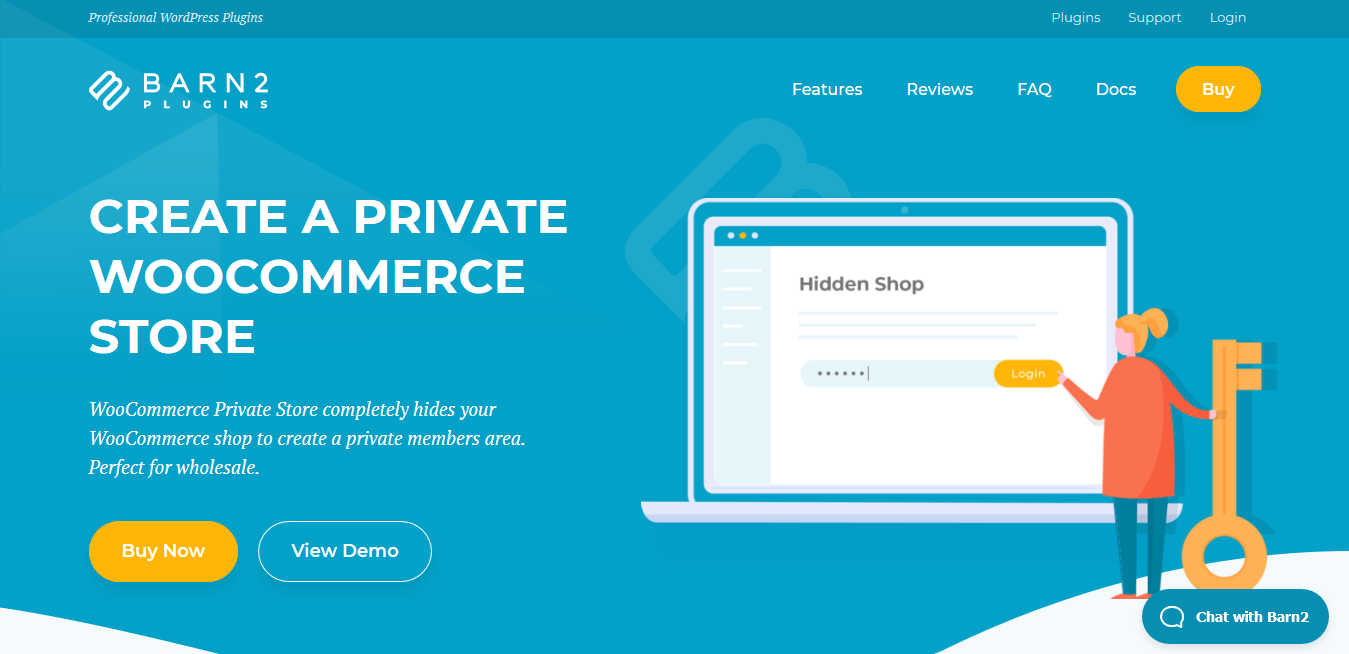 WooCommerce Private Store Plugin 1.6.3 – Make WooCommerce Private