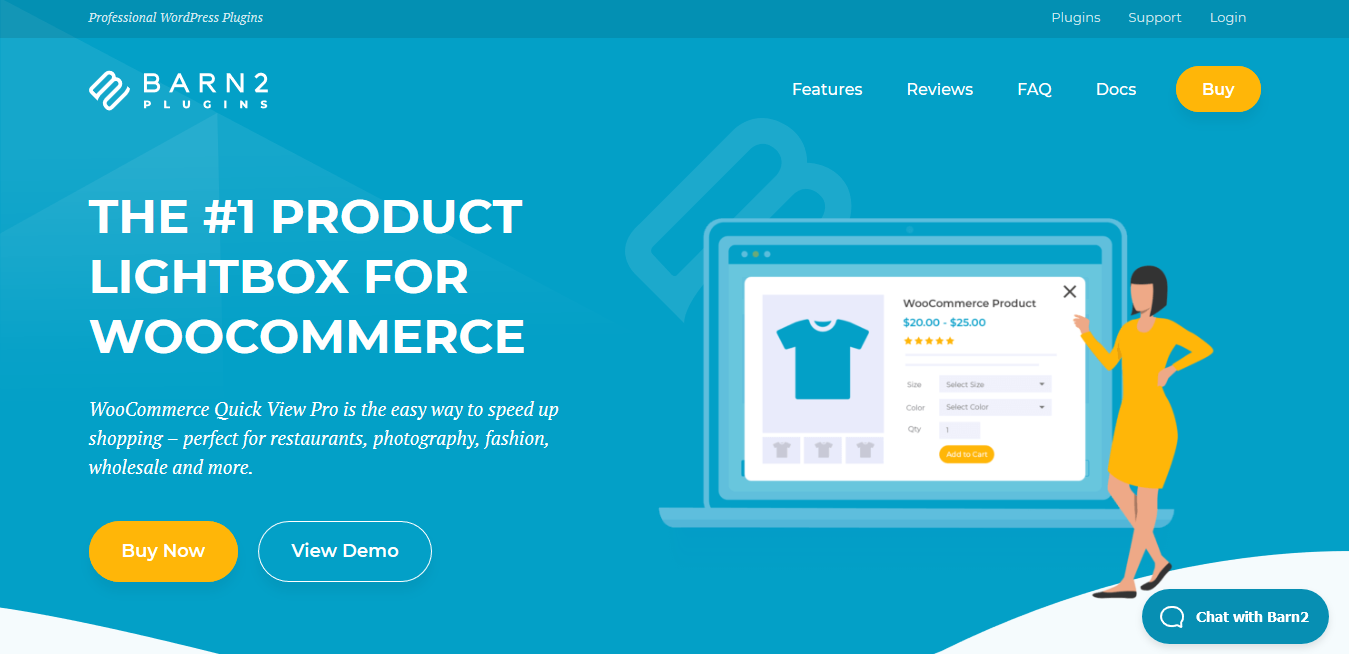WooCommerce Quick View Pro 1.6.2 – WordPress Lightbox Plugin by Barn2