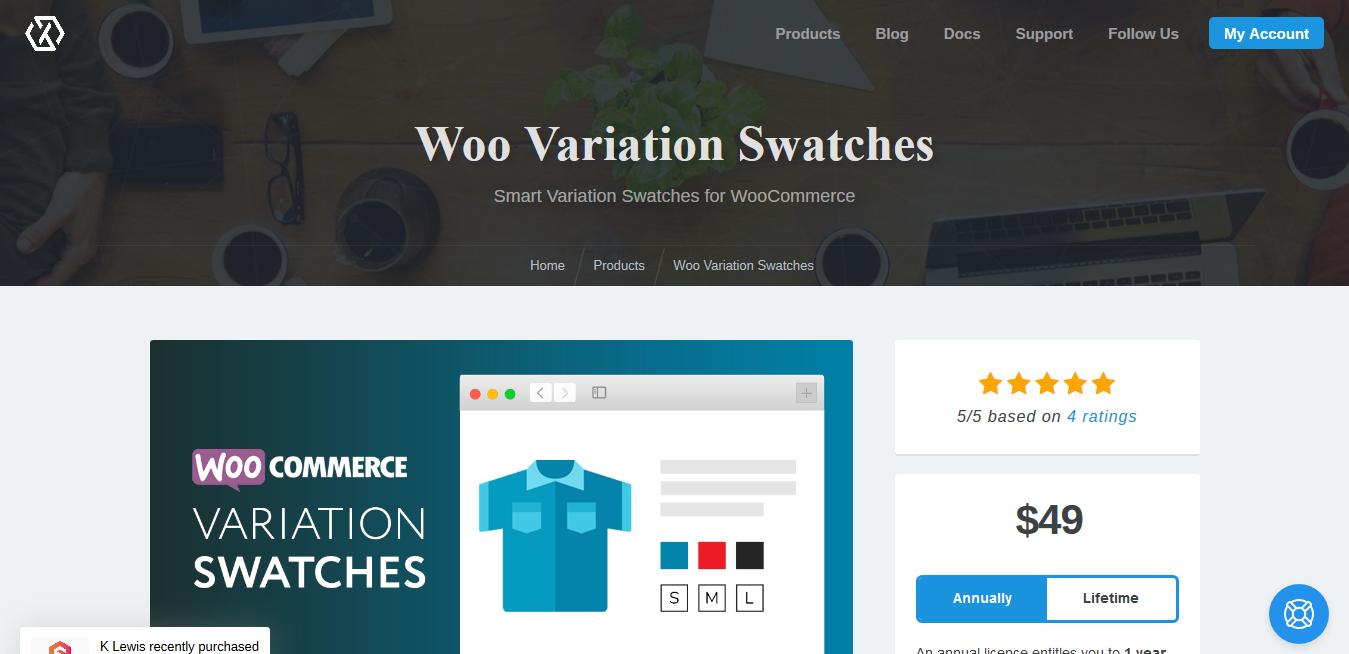 Woo Variation Swatches 1.7.5 – XplodedThemes