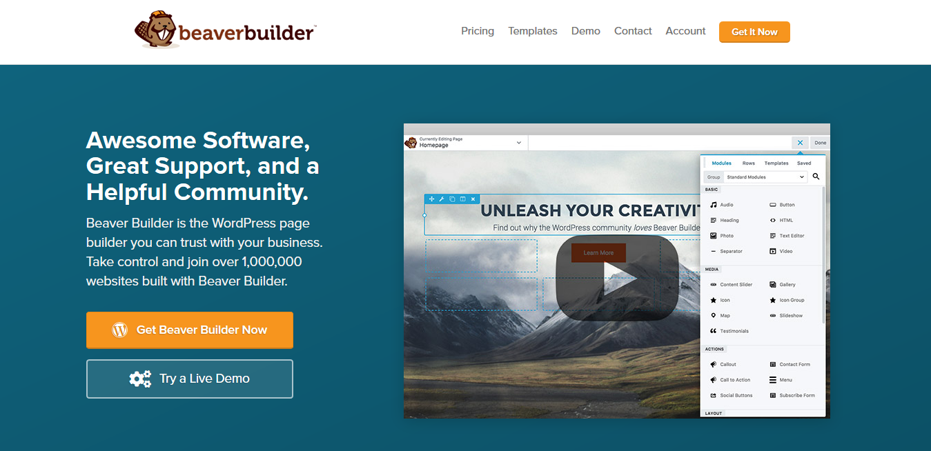 Beaver Builder Professional 2.4.2.2 – WordPress Page Builder Plugin