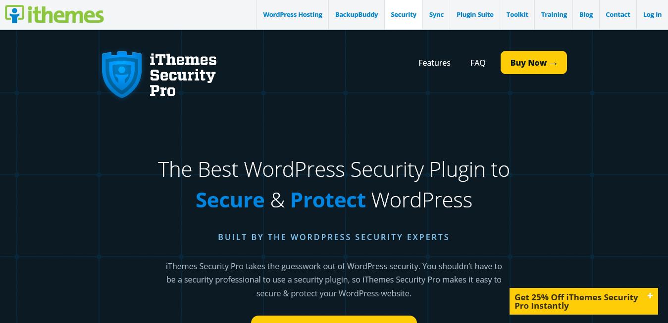iThemes Security Pro 6.8.3 – WordPress Security Plugin
