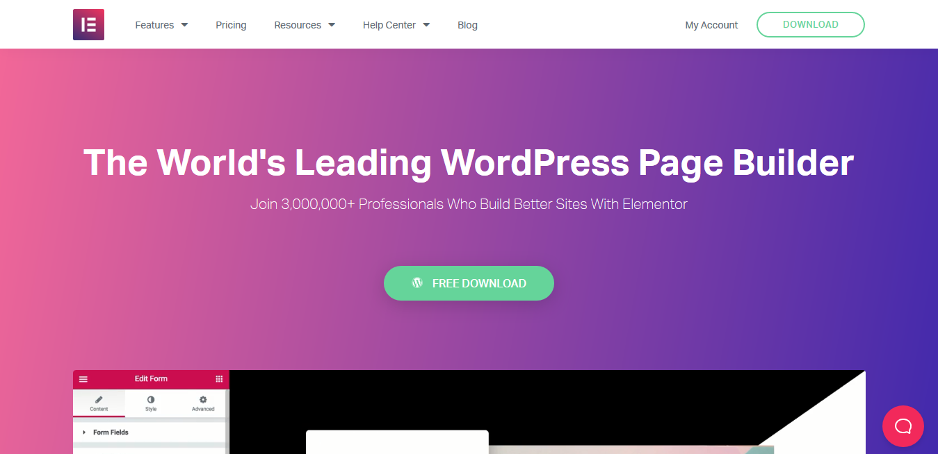 Elementor Pro 3.1.1 and 3.1.1 Free Templates – The World's Leading WordPress Page Builder