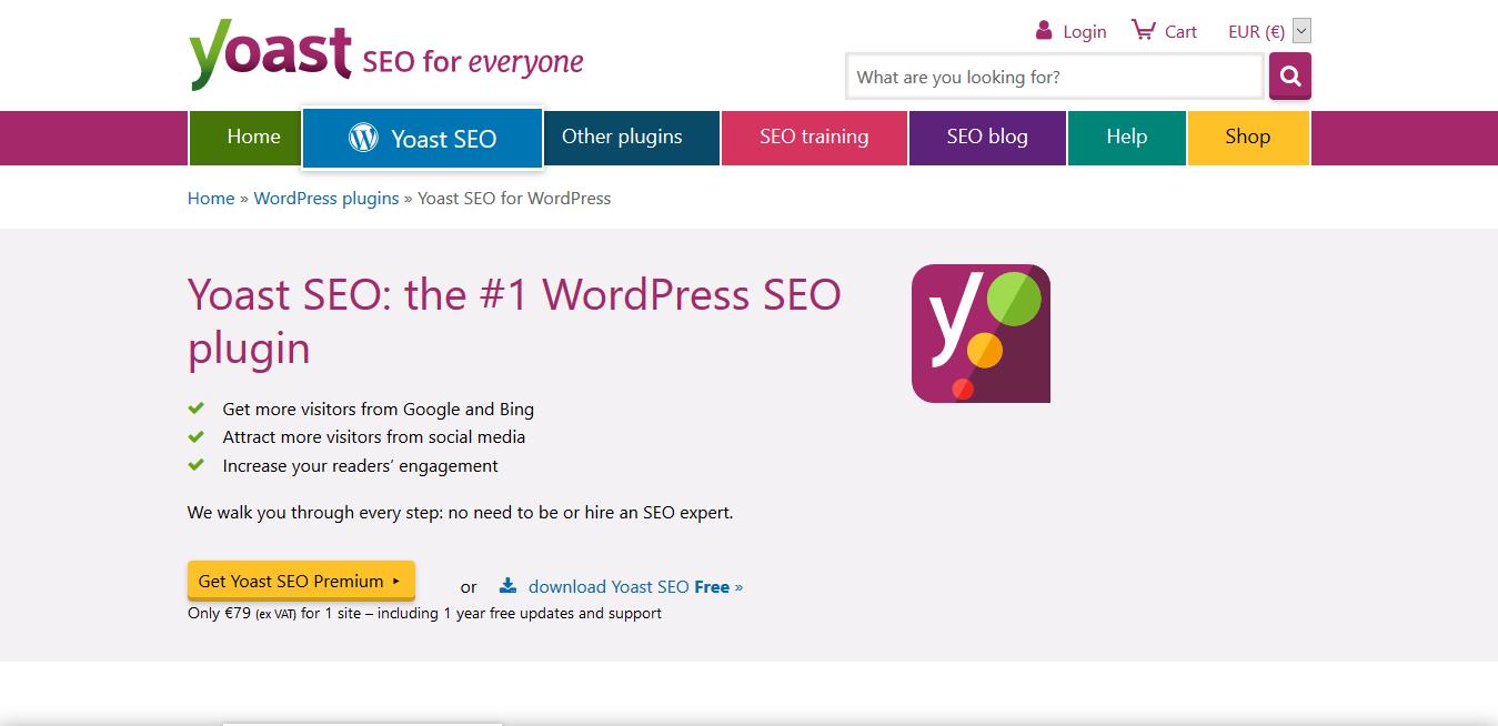 Yoast SEO Premium 15.9 – The #1 WordPress SEO plugin