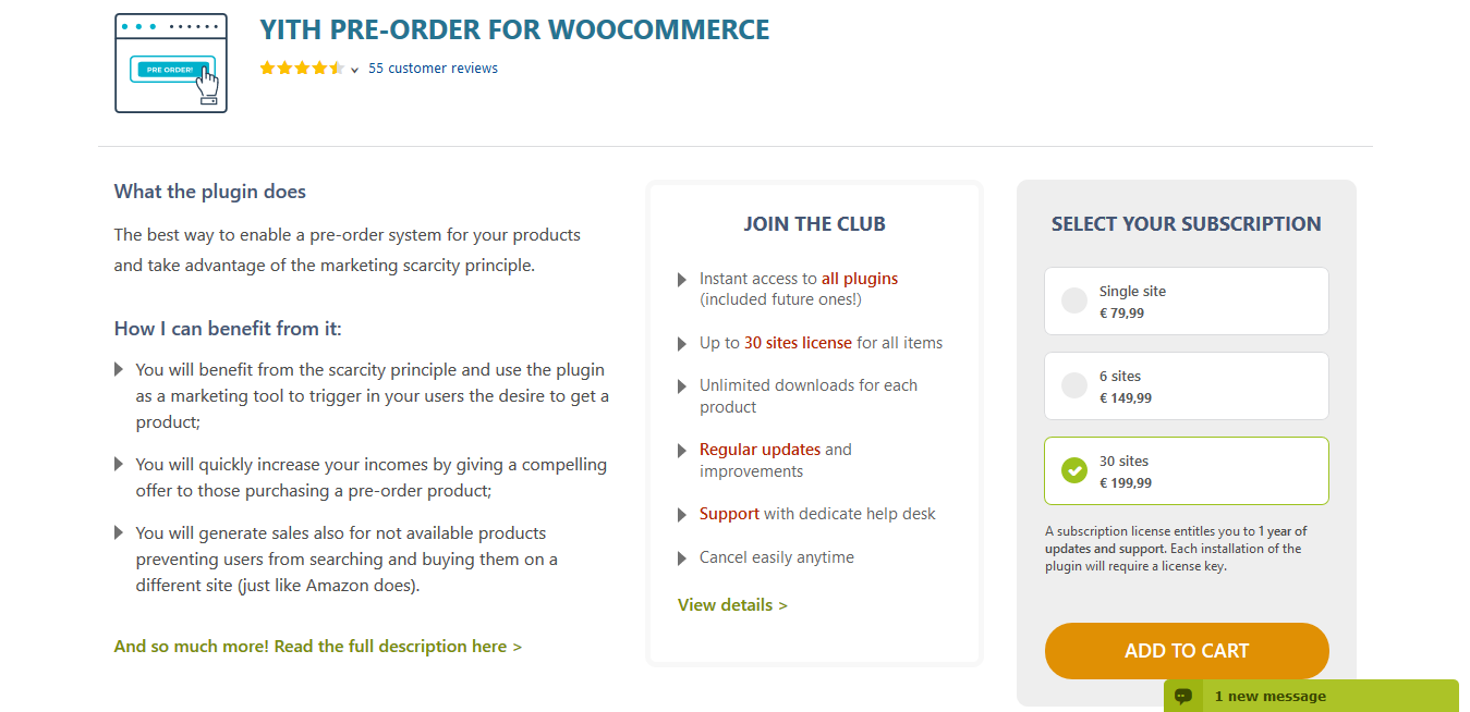 YITH Pre-Order for WooCommerce Premium 1.7.1