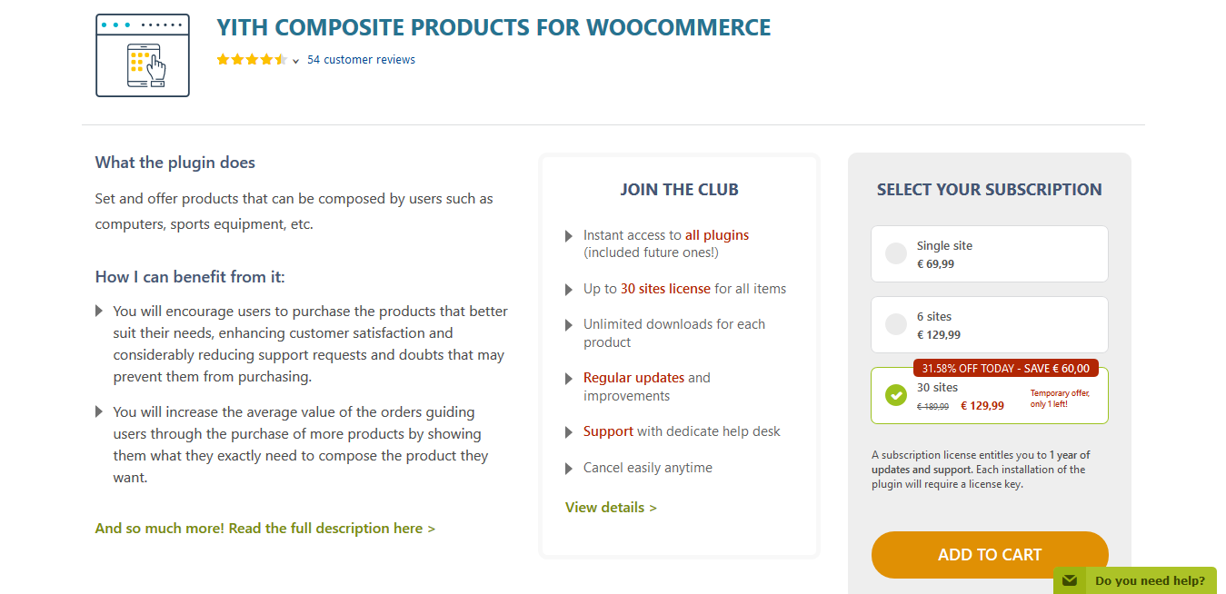 YITH Composite Products for WooCommerce Premium 1.1.27
