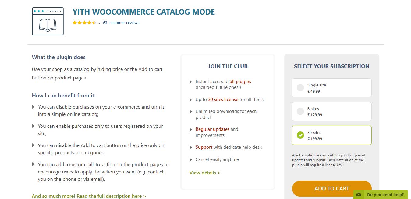 YITH WooCommerce Catalog Mode Premium 2.0.16