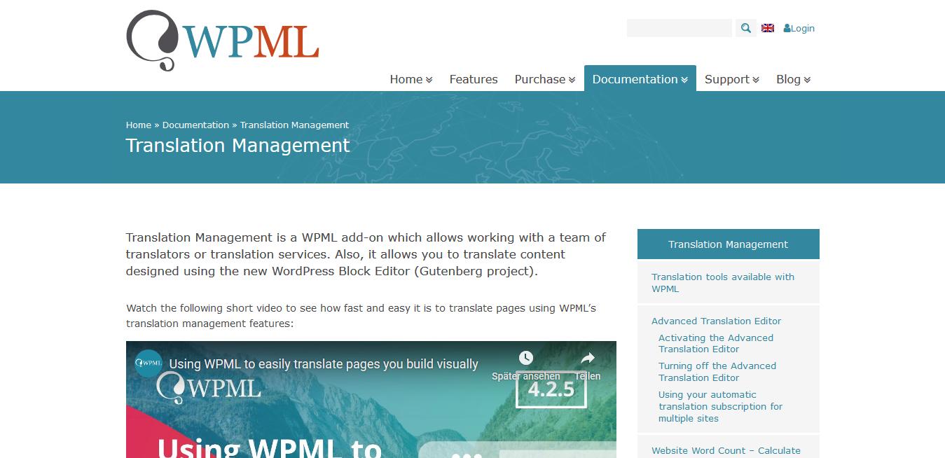 WPML WordPress Multilingual Translation Management Addon 2.10.6