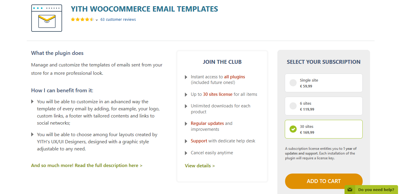 YITH WooCommerce Email Templates Premium 1.3.38