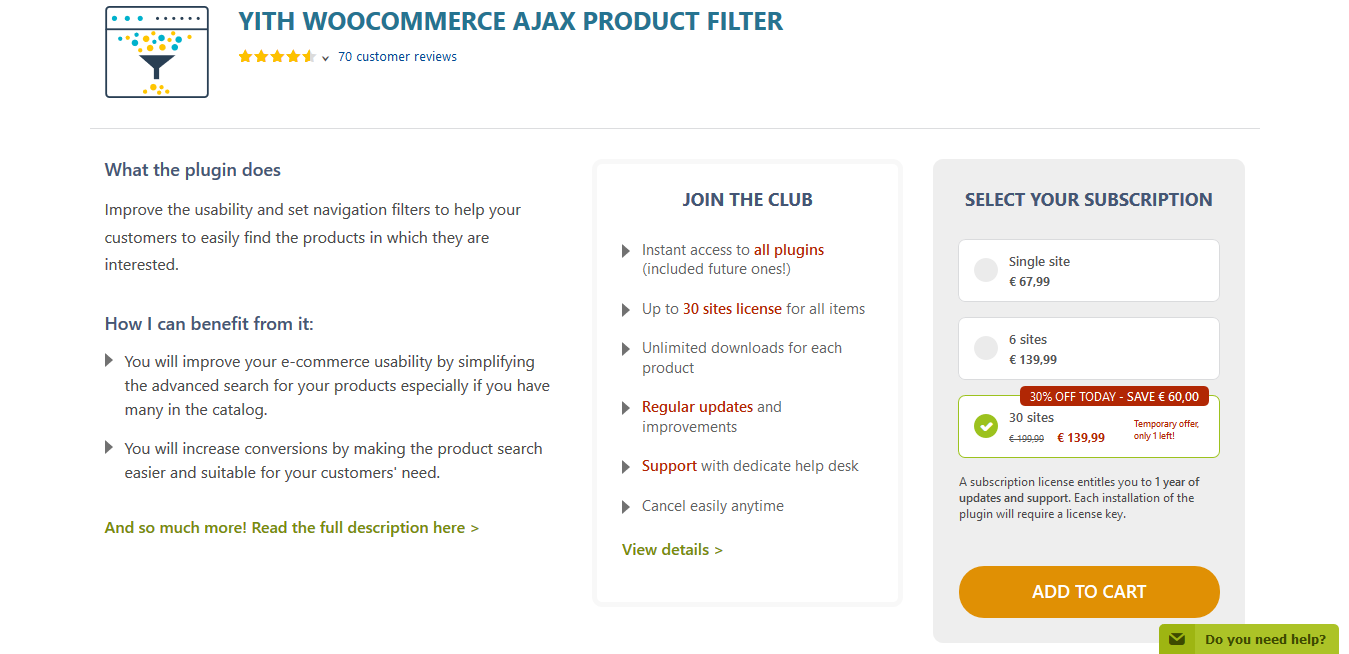 YITH WooCommerce Ajax Product Filter Premium 3.11.2