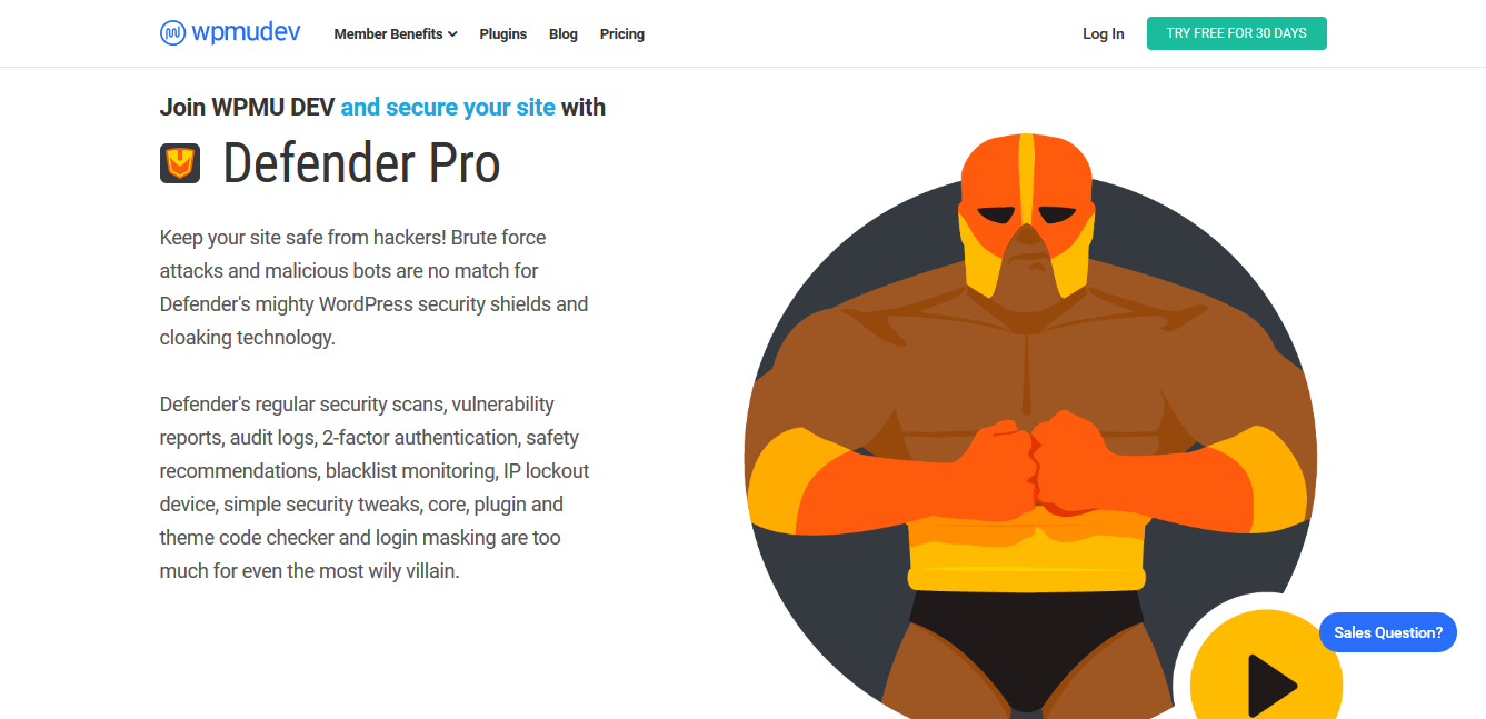 WP Defender Pro WordPress Security Protection 2.4.9 – WPMU Dev