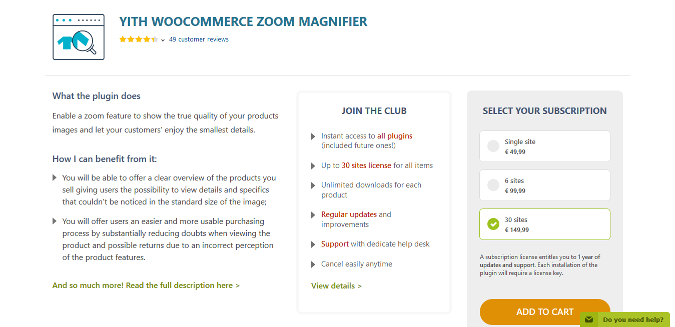 YITH WooCommerce Zoom Magnifier Premium 1.5.12