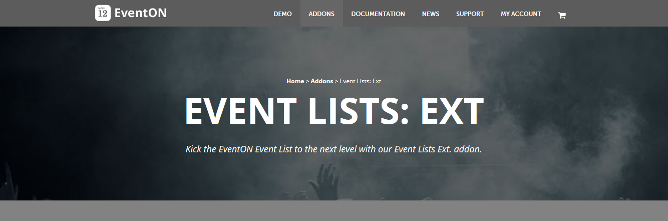 EventOn Event Lists: Ext Addon 0.20