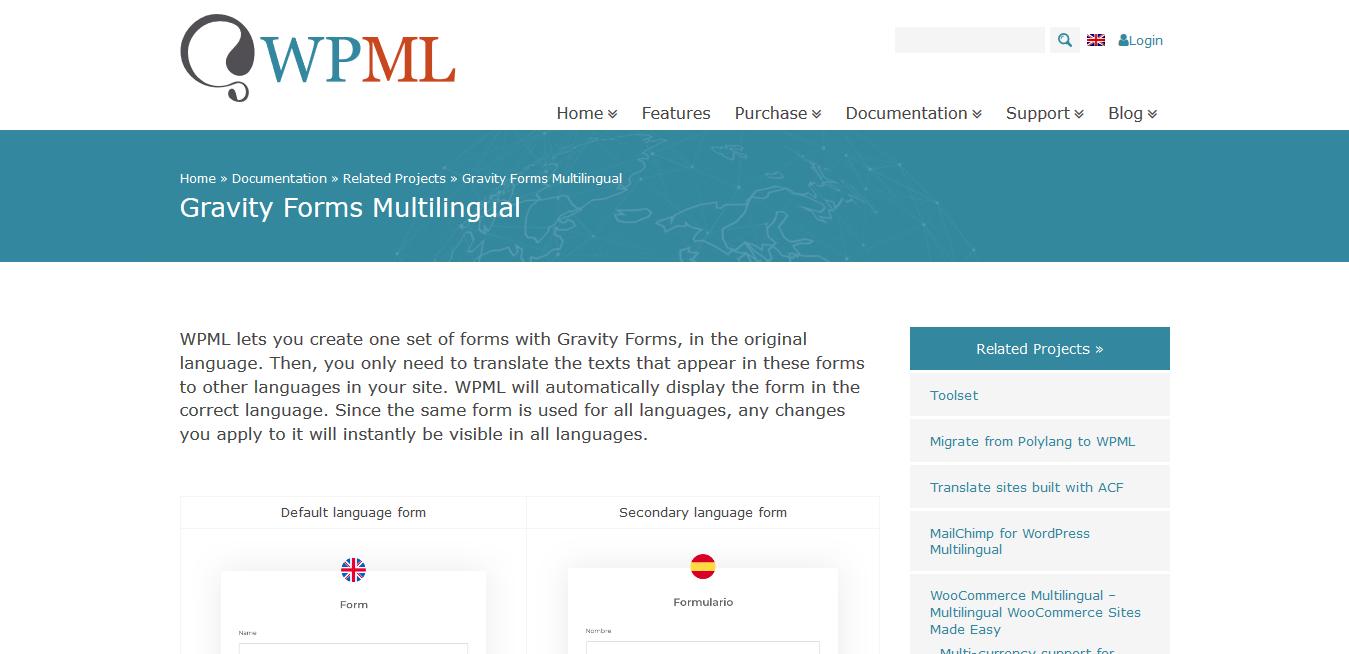 WPML WordPress Multilingual Gravity Forms Multilingual Add-On 1.5.3