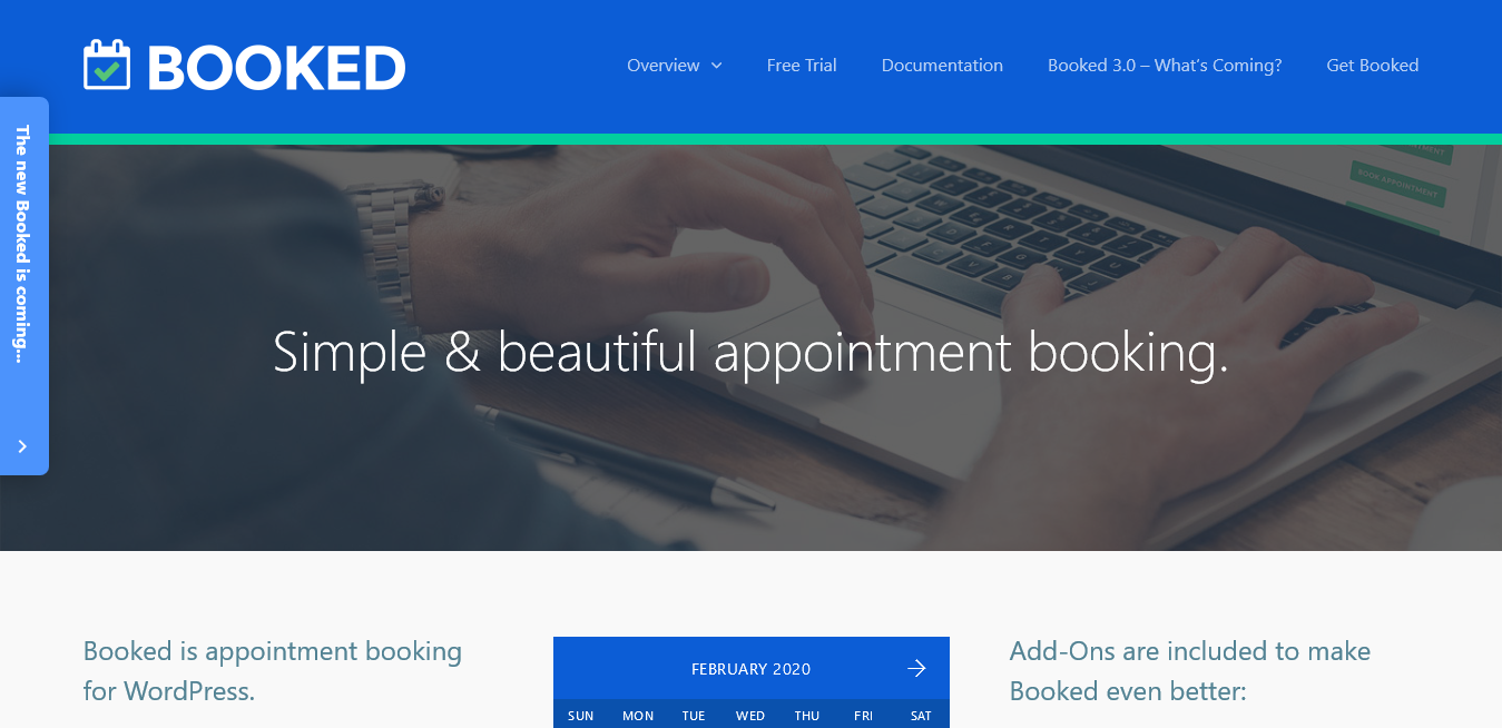 Booked 2.2.4 – Simple Appointment Booking for WordPress