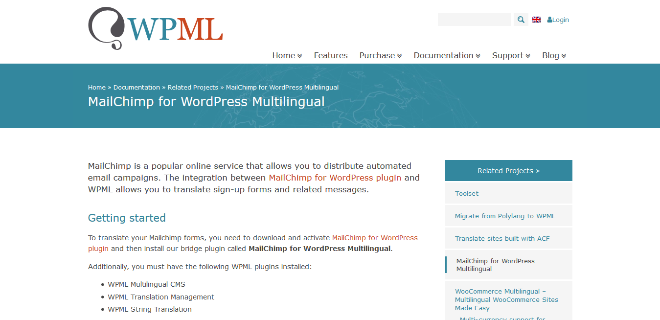 WPML WordPress Multilingual MailChimp Addon 0.0.3