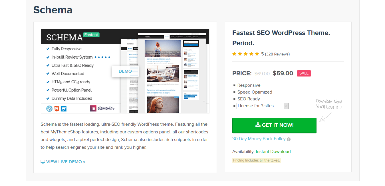MyThemeShop Schema 3.9.7 – Fastest SEO Theme Available for WordPress