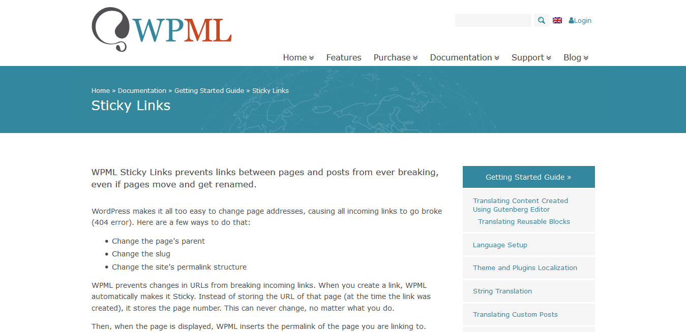 WPML WordPress Multilingual Sticky Links Add-On 1.5.4