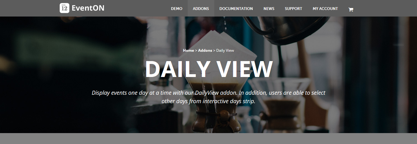 EventOn Daily View Addon 1.0.12