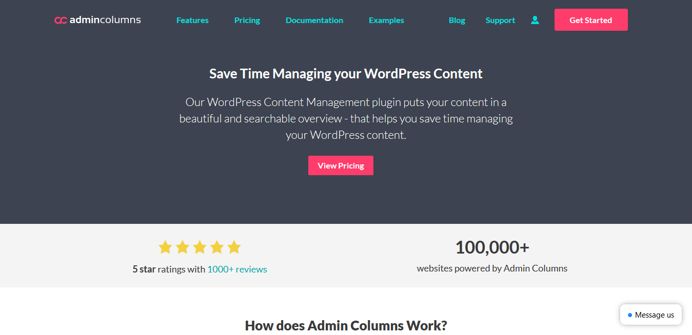 Admin Columns Pro 5.4.4 – WordPress Content Management Plugin