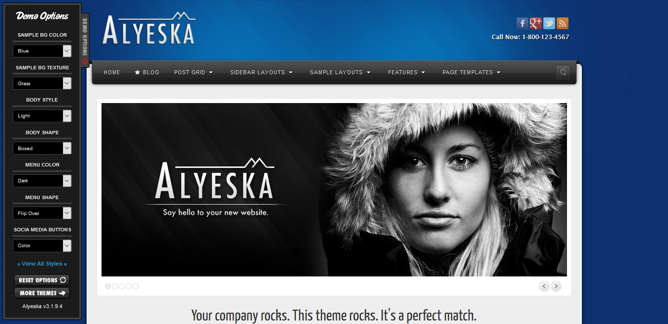 Alyeska Responsive WordPress Theme 3.1.18