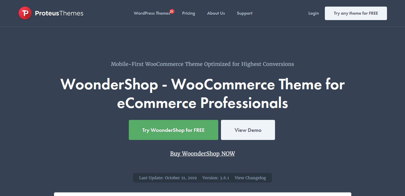 WoonderShop 3.6.0 – Conversion Optimized WooCommerce Theme