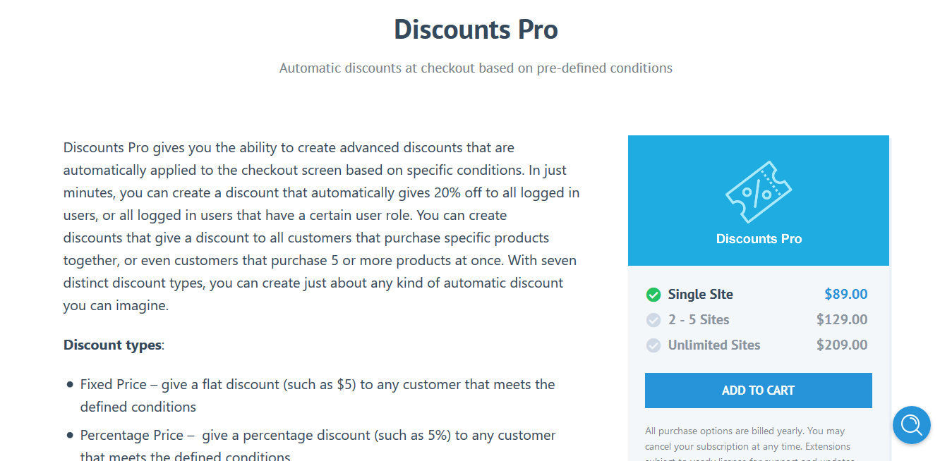 Easy Digital Downloads Discounts Pro 1.4.8