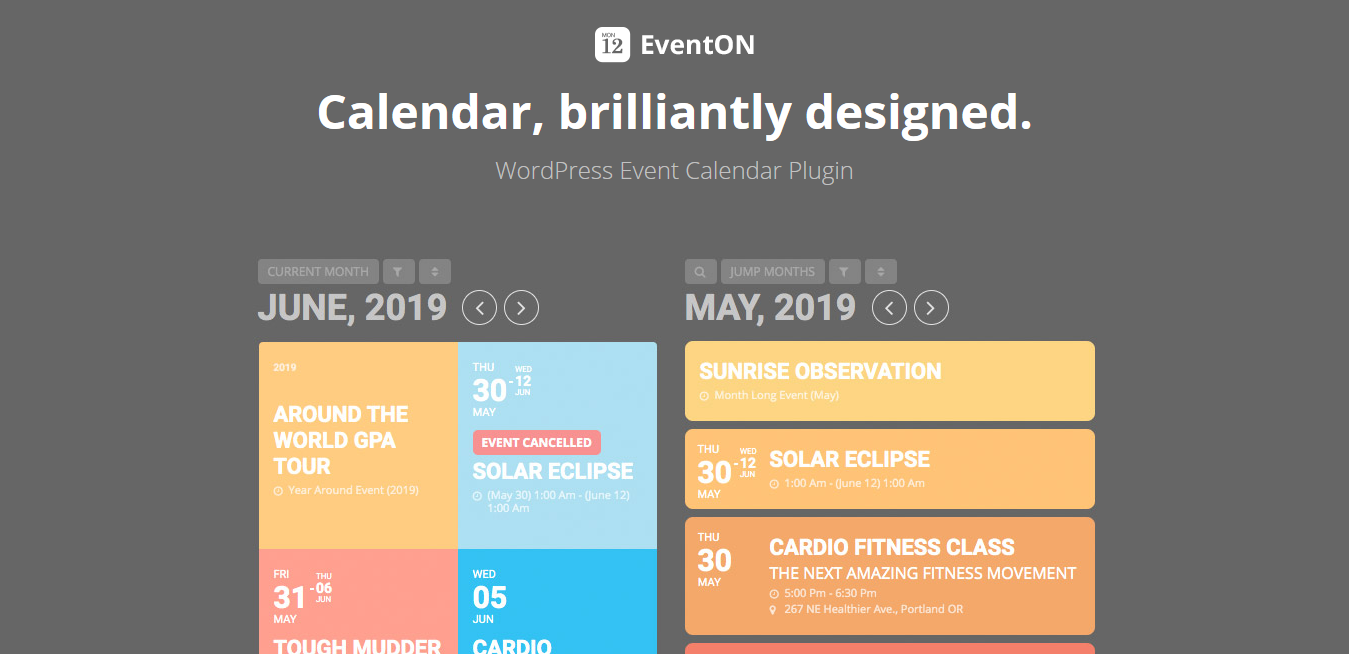 EventON WordPress Event Calendar Plugin 3.1.0 (+ All 13 Addons)