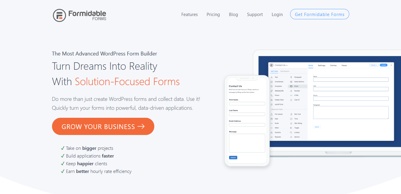 Formidable Forms Pro 4.10.01 (+ All 20 Addons) – The Most Advanced WordPress Forms Plugin