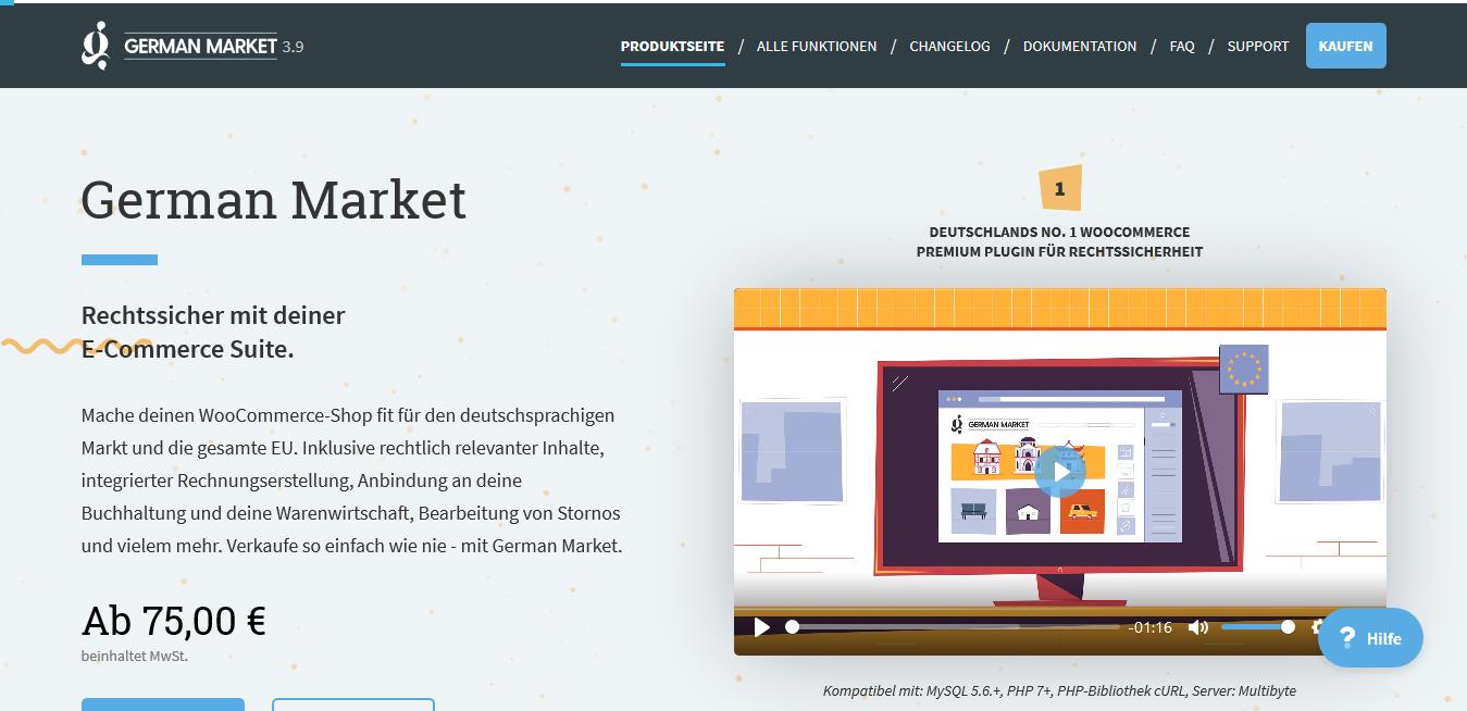 German Market for WooCommerce 3.8.1 – MarketPress