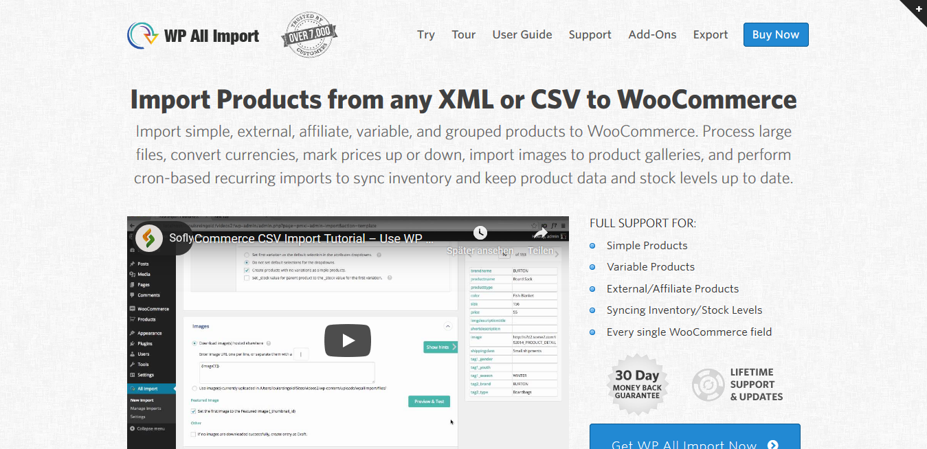 WP All Import WooCommerce Add-On 3.2.5 – Import CSV XML to WooCommerce Products