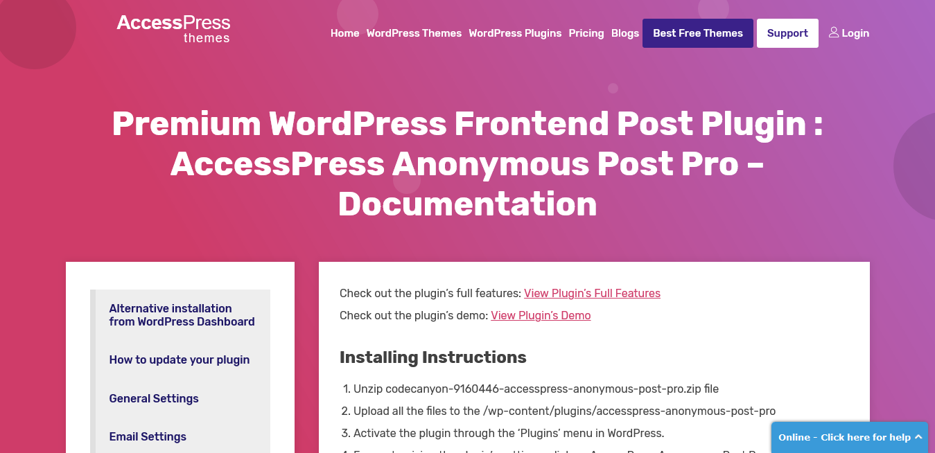 AccessPress Anonymous Post Pro 3.2.7 – Premium WordPress Frontend Post Plugin