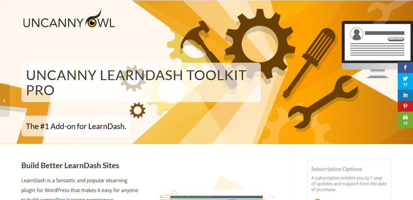 Uncanny LearnDash Toolkit Pro 3.7.4 – Pro Modules for the Uncanny LearnDash Toolkit