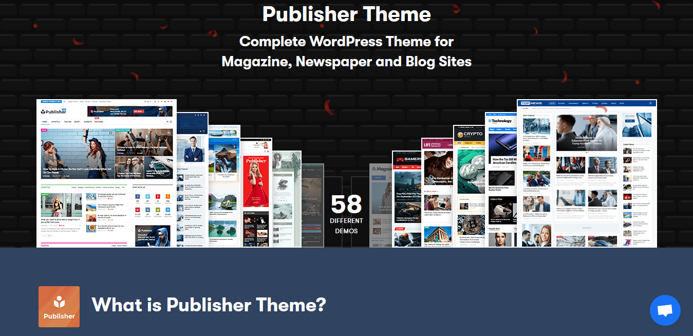 Publisher Theme 7.9.0 – Best Newspaper WordPress Themes