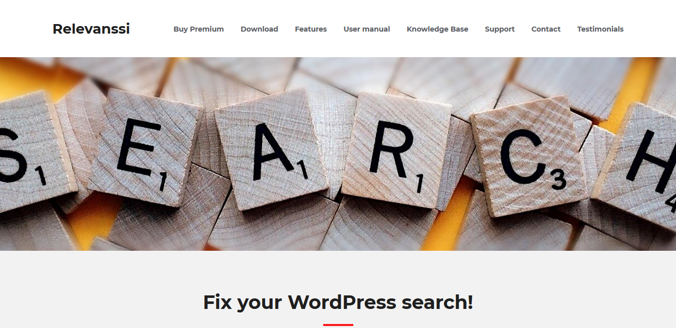 Relevanssi Premium 2.15.1 – The WordPress Search Plugin You Need